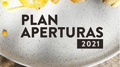 Plan nuevas aperturas vajillas Corona 2021